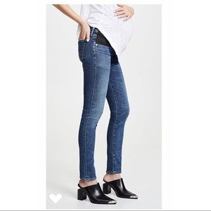 COH Maternity Racer Lo Rise Skinny Below the Belly
